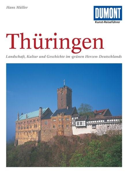DuMont Kunst-Reiseführer Thüringen   Müller   7., aktualisierte Auflage, 2011   Buch (Cover)