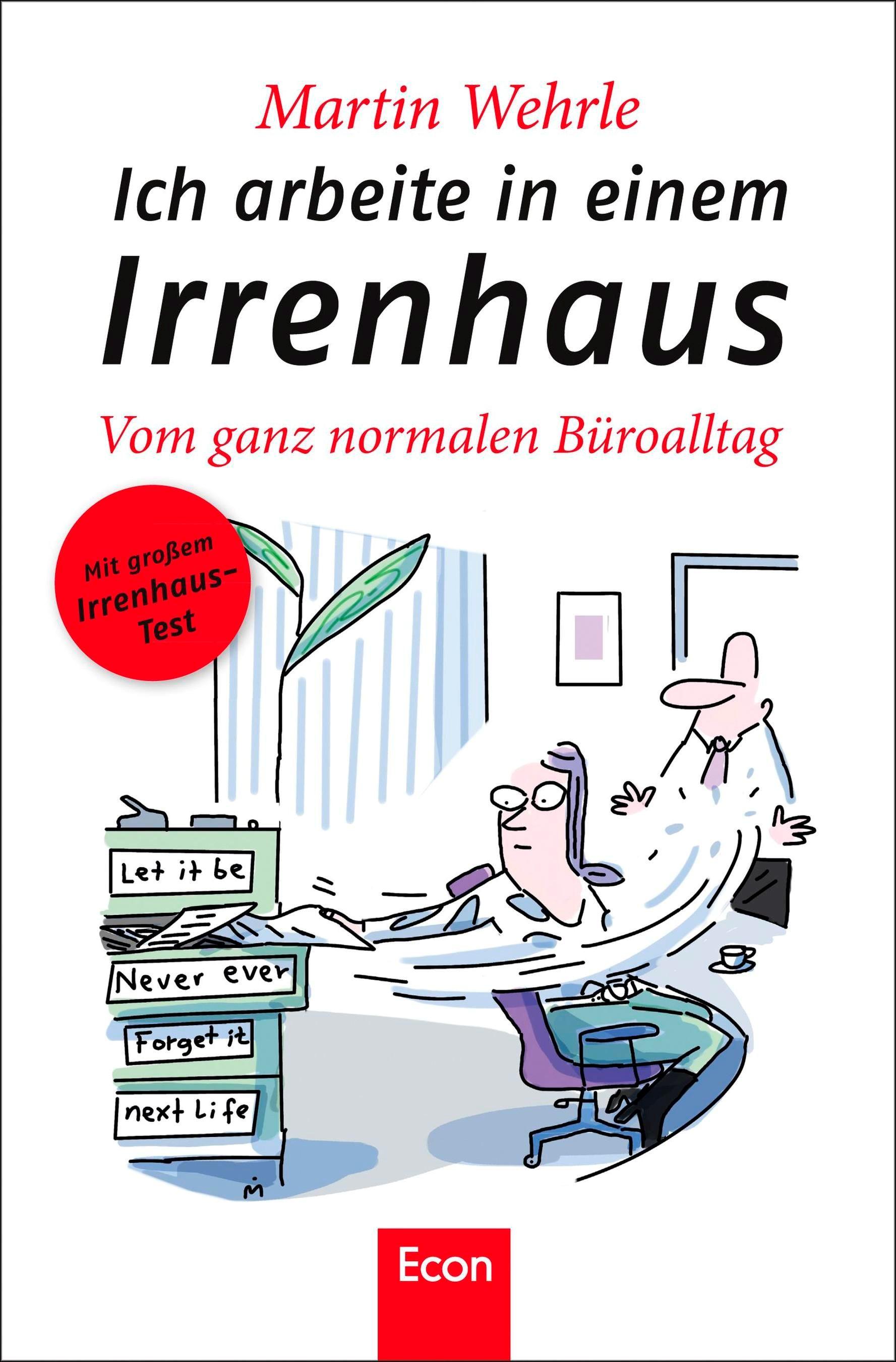 Ich arbeite in einem Irrenhaus | Wehrle, 2011 | Buch (Cover)