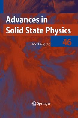 Abbildung von Haug   Advances in Solid State Physics 46   1. Auflage   2010   46   beck-shop.de