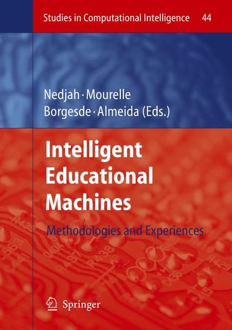 Intelligent Educational Machines | Borges / de Almeida | 1st Edition. Softcover version of original hardcover edition 2007, 2010 | Buch (Cover)