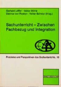 Sachunterricht zwischen Fachbezug und Integration | Löffler / Möhle / Reeken, 2000 | Buch (Cover)