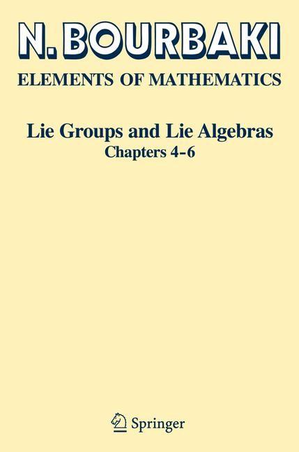 Abbildung von Bourbaki | Lie Groups and Lie Algebras | 1st ed. 2002. 2nd printing | 2008