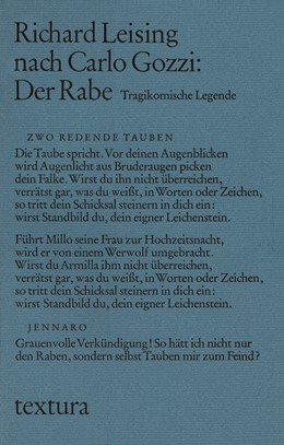 Abbildung von Leising, Richard / Gozzi, Carlo | Der Rabe | 2006 | Tragikomische Legende