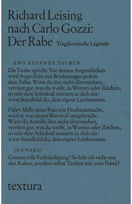 Cover: Carlo Gozzi|Richard Leising, Der Rabe