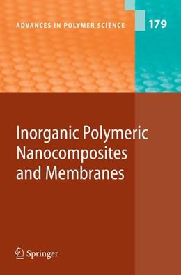 Abbildung von Abe / Kobayashi | Inorganic Polymeric Nanocomposites and Membranes | 1st Edition. Softcover version of original hardcover edition 2005 | 2010 | 179