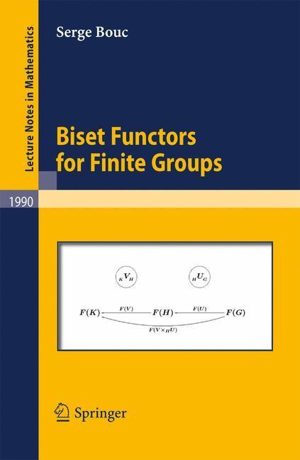Abbildung von Bouc | Biset Functors for Finite Groups | 2010