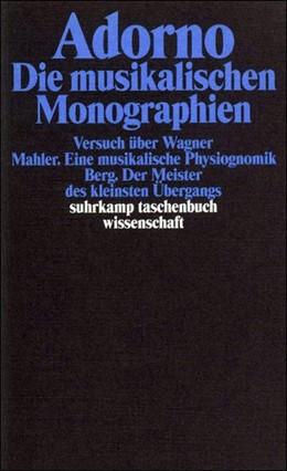 Abbildung von Adorno | Gesammelte Schriften in 20 Bänden | 2003 | Band 13: Die musikalischen Mon... | 1713