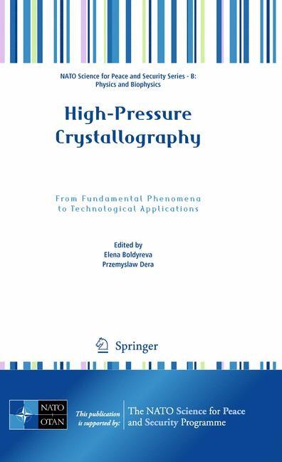 Abbildung von Boldyreva / Dera | High-Pressure Crystallography | 2010