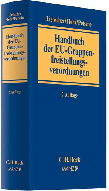 Handbuch der EU-Gruppenfreistellungsverordnungen | Liebscher / Flohr / Petsche | 2. Auflage, 2012 | Buch (Cover)