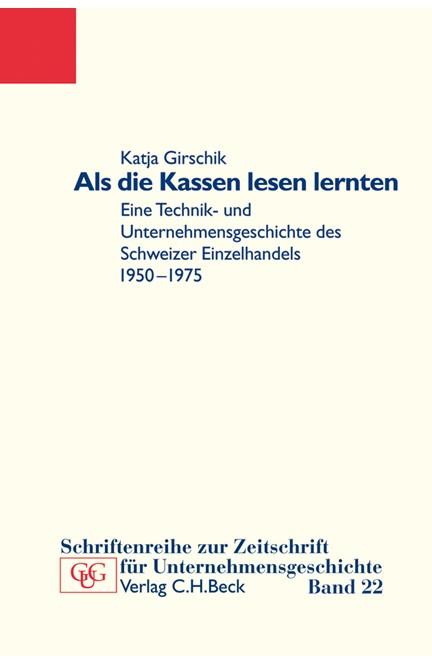 Cover: Hansjörg Küster|Katja Girschik, Als die Kassen lesen lernten