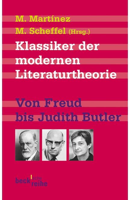 Cover: , Klassiker der modernen Literaturtheorie