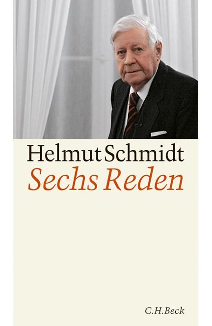 Cover: Hansjörg Küster|Helmut Schmidt, Sechs Reden
