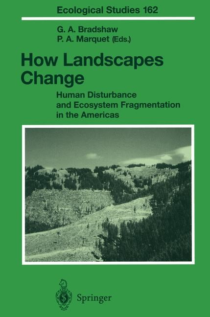 How Landscapes Change | Bradshaw / Marquet | 1st Edition. Softcover version of original hardcover edition 2003, 2010 | Buch (Cover)