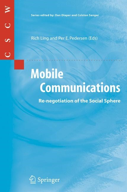 Mobile Communications | Ling / Pedersen, 2005 | Buch (Cover)