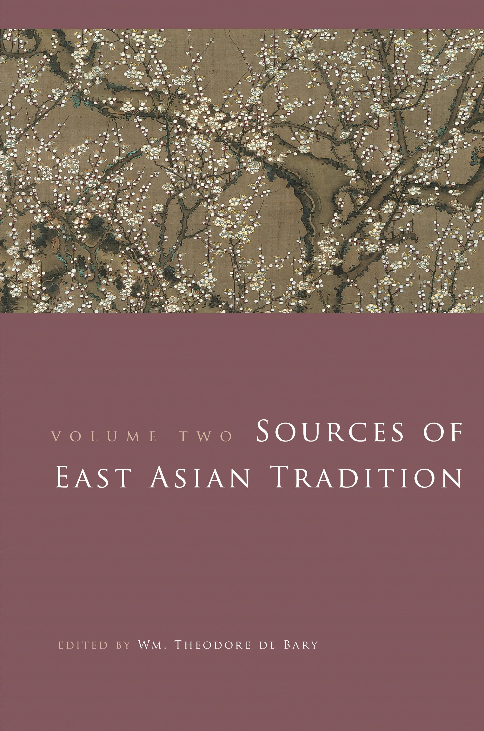 Abbildung von Bary | Sources of East Asian Tradition | 2008