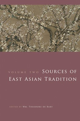 Abbildung von Bary | Sources of East Asian Tradition | 2008 | The Modern Period