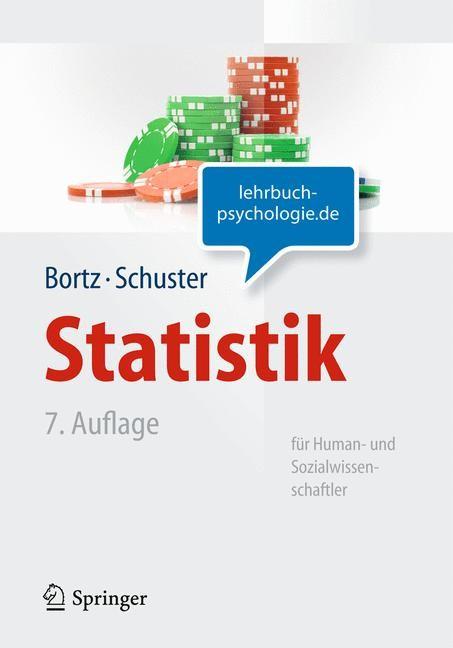 Statistik für Human- und Sozialwissenschaftler | Bortz / Schuster | 7., vollst. überarb. u. aktualisierte Aufl., 2010 | Buch (Cover)