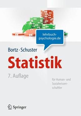 Abbildung von Bortz / Schuster | Statistik für Human- und Sozialwissenschaftler | 7., vollst. überarb. u. aktualisierte Aufl. | 2010 | Limitierte Sonderausgabe