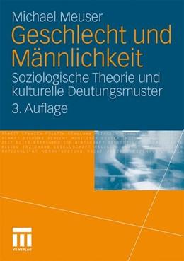 Abbildung von Meuser | Geschlecht und Männlichkeit | 2010 | Soziologische Theorie und kult...
