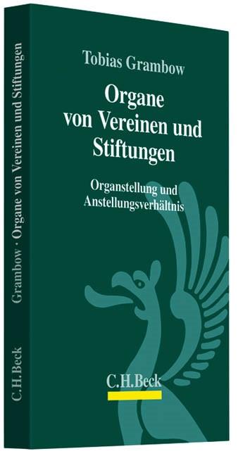 Organe von Vereinen und Stiftungen | Grambow | Buch (Cover)