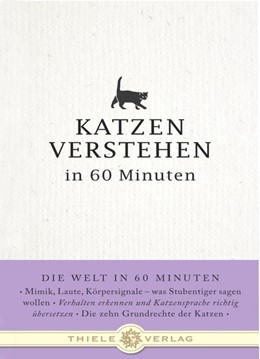 Abbildung von Merian | Katzen verstehen in 60 Minuten | 1. Auflage | 2011 | beck-shop.de