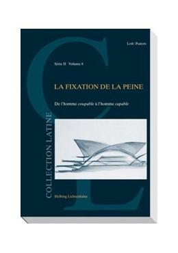 Abbildung von Parein | La fixation de la peine | 1. Auflage | 2010 | Volume 8 | beck-shop.de
