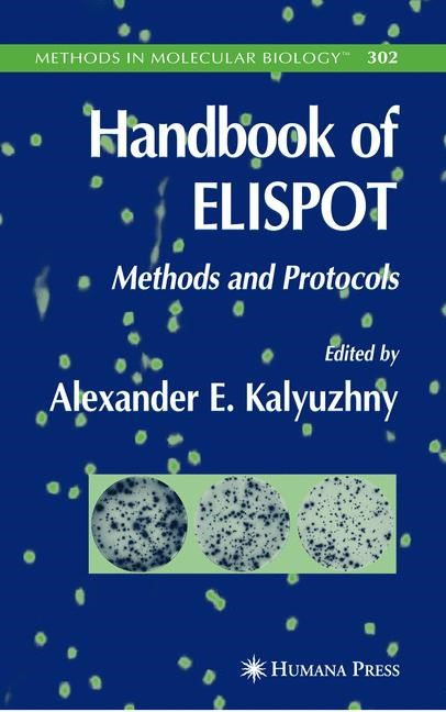 Handbook of ELISPOT | Kalyuzhny | 1st Edition. Softcover version of original hardcover edition 2005, 2010 | Buch (Cover)