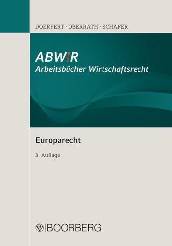 Europarecht   Doerfert / Oberrath / Schäfer   überarbeitet, 2010   Buch (Cover)