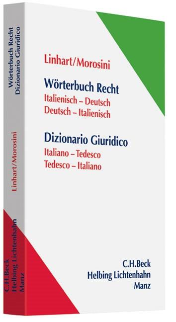 Wörterbuch Recht = Dizionario Giuridico. | Linhart / Morosini, 2012 | Buch (Cover)