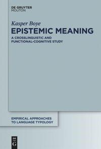 Epistemic Meaning | Boye, 2012 | Buch (Cover)