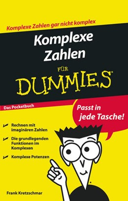 Abbildung von Kretzschmar | Komplexe Zahlen für Dummies Das Pocketbuch | 2011