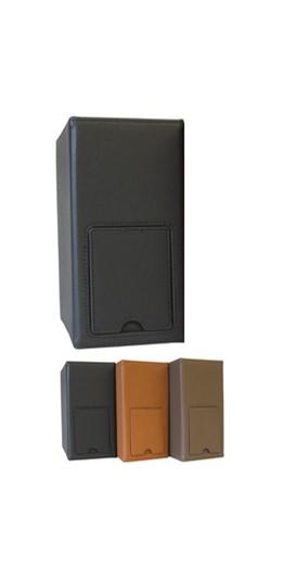 Abbildung von AdvoSkin • onyx-schwarz     Luxus-Sammelordner mit integri...