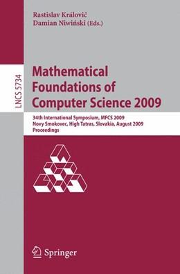 Abbildung von Královic / Niwinski | Mathematical Foundations of Computer Science 2009 | 2009 | 34th International Symposium, ...