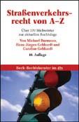 Straßenverkehrsrecht von A-Z | Burmann / Gebhardt / Gebhardt | 10., neubearbeitete Auflage, 2006 | Buch (Cover)