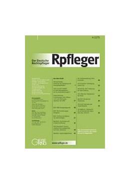 Abbildung von Der Deutsche Rechtspfleger – Rpfleger   128. Jahrgang   2020