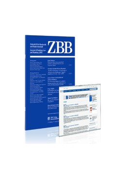 Abbildung von Zeitschrift für Bankrecht und Bankwirtschaft • ZBB | 32. Jahrgang | 2020