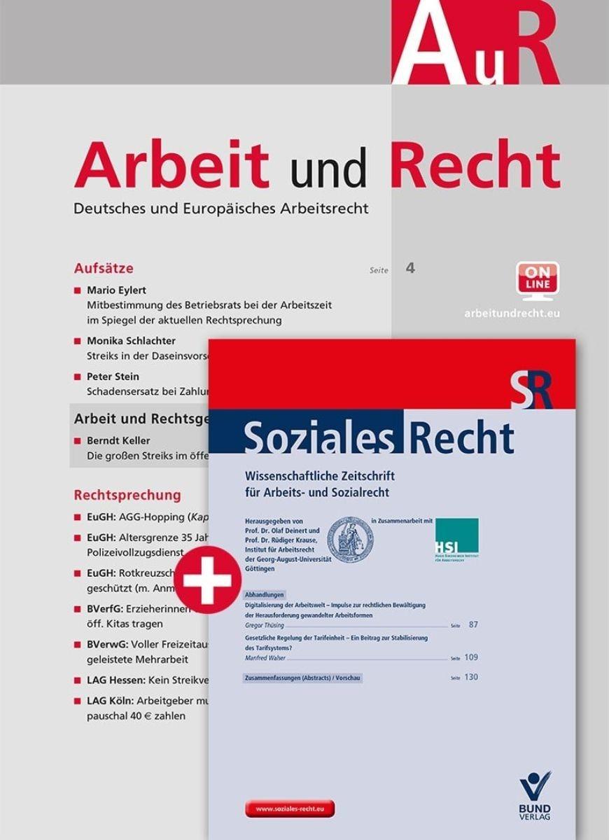 AuR • Arbeit und Recht | 67. Jahrgang (Cover)