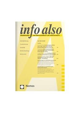 Abbildung von info also | 36. Auflage | 2021 | beck-shop.de