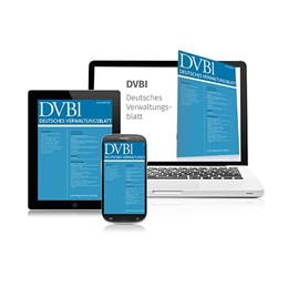 Abbildung von von Danwitz / Durner | Deutsches Verwaltungsblatt • DVBl | 133. Auflage | 2021 | beck-shop.de