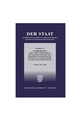 Abbildung von Der Staat   57. Auflage   2021   beck-shop.de
