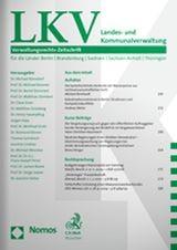 Landes- und Kommunalverwaltung • LKV | 28. Jahrgang (Cover)
