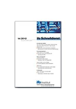 Abbildung von ifo Schnelldienst | 1. Auflage | 2020 | beck-shop.de