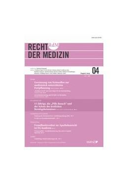 Abbildung von RdM - Recht der Medizin   25. Auflage   2020   beck-shop.de