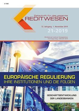 Abbildung von Zeitschrift für das gesamte Kreditwesen • ZfgK | 73. Jahrgang | 2020 | Pflichtblatt der Frankfurter W...