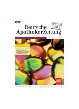 Abbildung von DAZ - Deutsche Apotheker Zeitung | 158. Auflage | 2020 | beck-shop.de