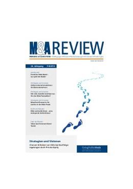 Abbildung von M & A Review | 29. Auflage | 2020 | beck-shop.de
