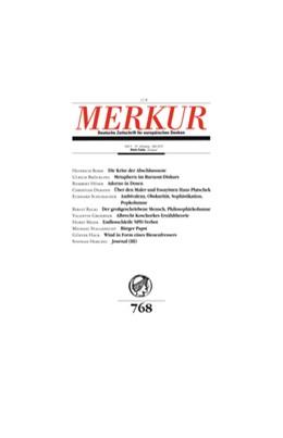 Abbildung von Merkur | 73. Jahrgang | 2019 | Deutsche Zeitschrift für europ...