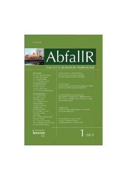 Abbildung von Zeitschrift für das Recht der Abfallwirtschaft -AbfallR | 19. Jahrgang | 2020