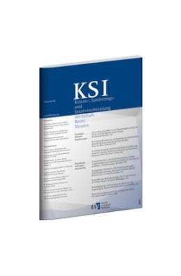Abbildung von KSI • Krisen-, Sanierungs- und Insolvenzberatung | 14. Auflage | 2021 | beck-shop.de