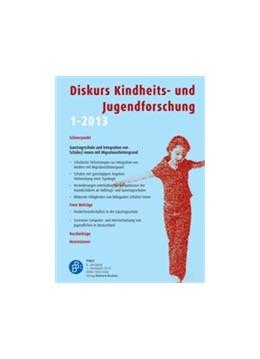 Abbildung von Diskurs Kindheits- und Jugendforschung | 13. Auflage | 2020 | beck-shop.de